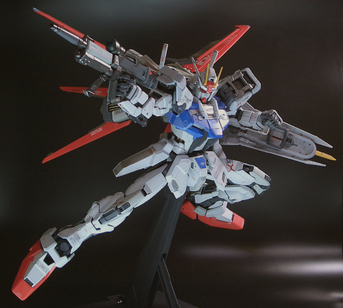 PG 1/60 Aile Strike Gundam: Assembled, Painted. Photoreview No.11 Big Size Images.