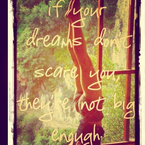 Dream lofty dreams, and as you dream so shall you become.. (Taken with Instagram)