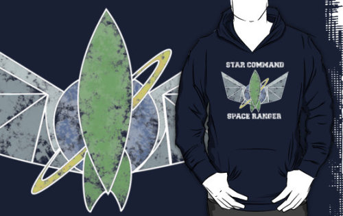 """Star Command Space Ranger"" T-Shirts & Hoodies by nimbusnought 