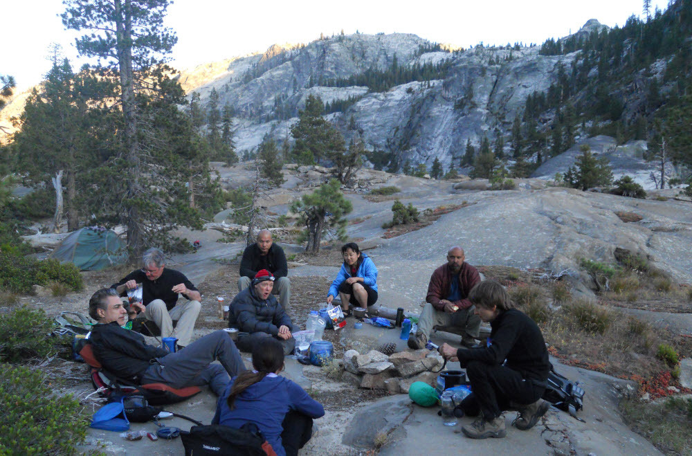 Grand Canyon of Tuolumne Backpacking, 3 days, White Wolf to Tuolumne Meadows - Bay Area Backcountry Buddies Meetup Group
