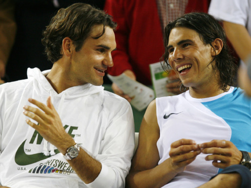 nadal and federer-both amazing
