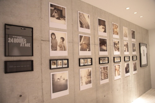 "Our gallery show of instant analog photography on Ace Hotel x Impossible Project Film ""24 Hours at Ace"" migrated from Ace Hotel New York to The Impossible Project Space Tokyo.  The exhibit features works by friends of Ace Hotel and The Impossible Project including Andie Acosta, Chloe Aftel, Elijah Wood, Adam Goldberg, Nicole Held, Araks Yeramyan, Jeremy Kost, Anne Bowerman, Michael Nevin, Steve Olson, Dave Ortiz, Devon Turnbull, Pat Sansone and work captured by influencers in Japan curated by The Impossible Project Space Tokyo.  If you're lucky enough to be in the hood, it's up until July 20. If you're not, you can pick up some keepsake tees on our shop.        Photos by Akisome"