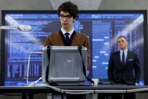 Ben Whishaw as gadget expert Q in James Bond: Skyfall