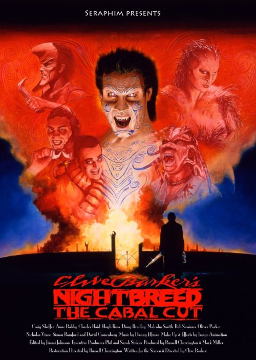 guiltregret:  Great poster for Nightbreed: The Cabal Cut.