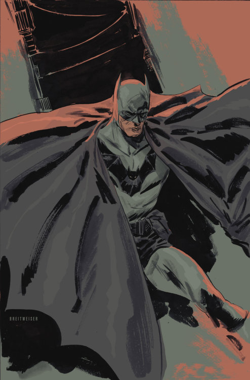 dr-killjoy:  Batman by Mitch Breitweiser