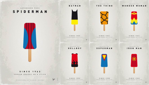 Superhero Ice Pops by Chungkong