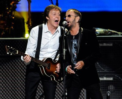 Sir Paul McCartney and Ringo Starr (2009)