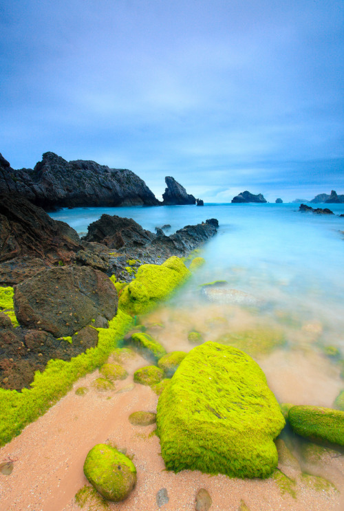 Playa de Somocuevas - Costa Quebrada (por tobarrica)