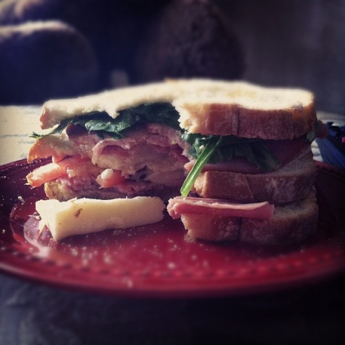 kar-smith:  Epic sandwich! (Taken with Instagram)