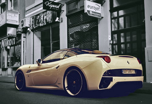 3stablished:  Ferrari California - Edited By 3stablished