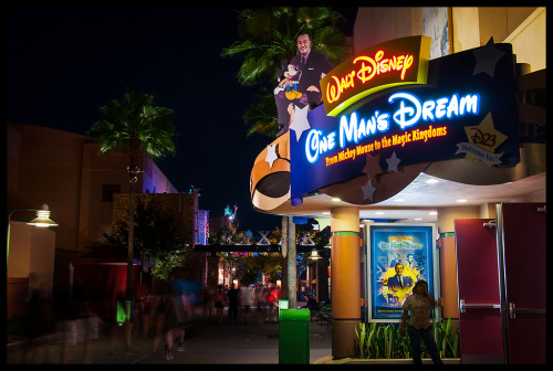 One Man's Dream - Hollywood Studios (by Adam Hansen)