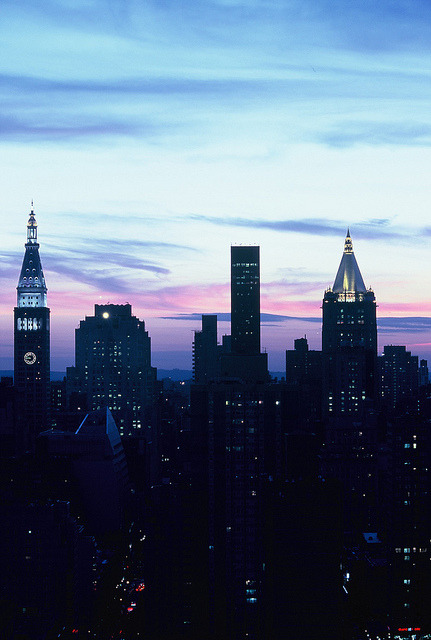 Midtown Dusk 01 by bluetrayne on Flickr.