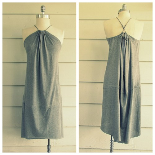 DIY Tee Shirts to Fishtail Dress Tutorial from Wobisobi here. *For other easy clothing restyles and jewelry tutorials from Wobisobi go here: truebluemeandyou.tumblr.com/tagged/wobisobi