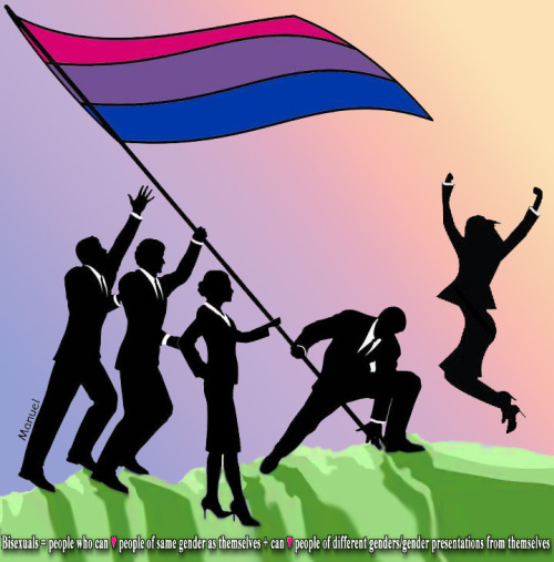 bisexual-community:  We're raising our Bi Pride Flag in the workplace.