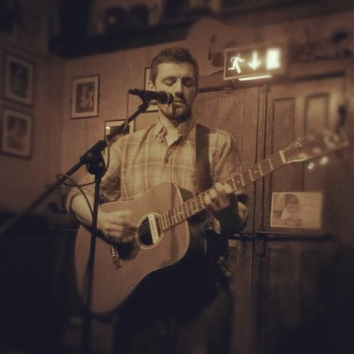 Last night I played at The Grove Inn, Leeds. This is a really good venue for anyone who plays acoustic or any type of folk/routes music. The sound there is crystal clear and is mixed superbly by Mat White the organiser. One of this nice touches about this venue is the hat collection for the musicians. Rather than charge a door fee a hat is passed around and people throw in whatever they want. I think this is a system more venues should adopt rather than charging a door fee and not paying the musicians anything.  CXI #livemusic #leeds #acoustic #realale #folk #goodtimes (Taken with Instagram)
