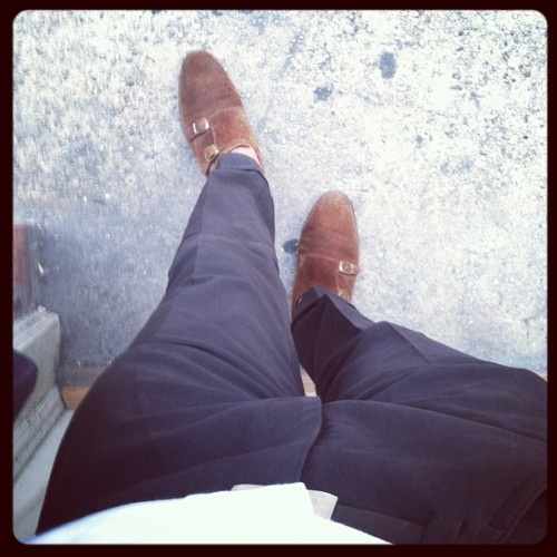 Today: Sid Mashburn, Isaia, RL (Taken with Instagram)