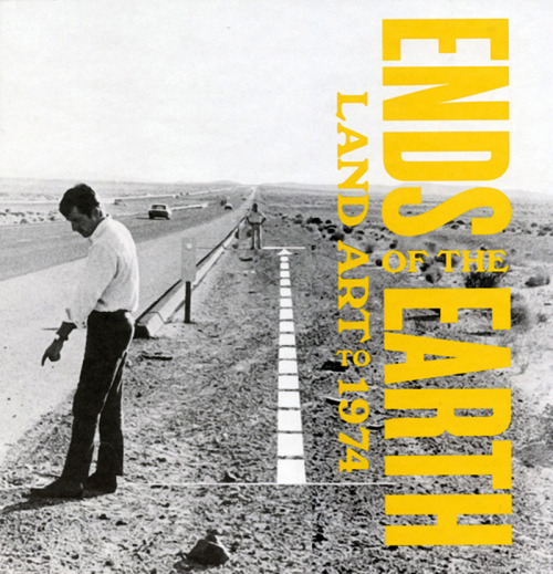 Can't wait to see this!  Ends of the Earth: Land Art to 1974 is the first large-scale, historical-thematic exhibition to deal broadly with Land art, capturing the simultaneous impulse emergent in the 1960s to use the earth as an artistic medium and to locate works in remote sites far from familiar art contexts. (via The Geffen Contemporary Museum at MOCA)