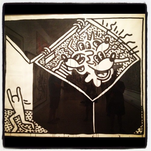 Keith Haring (Taken with Instagram)