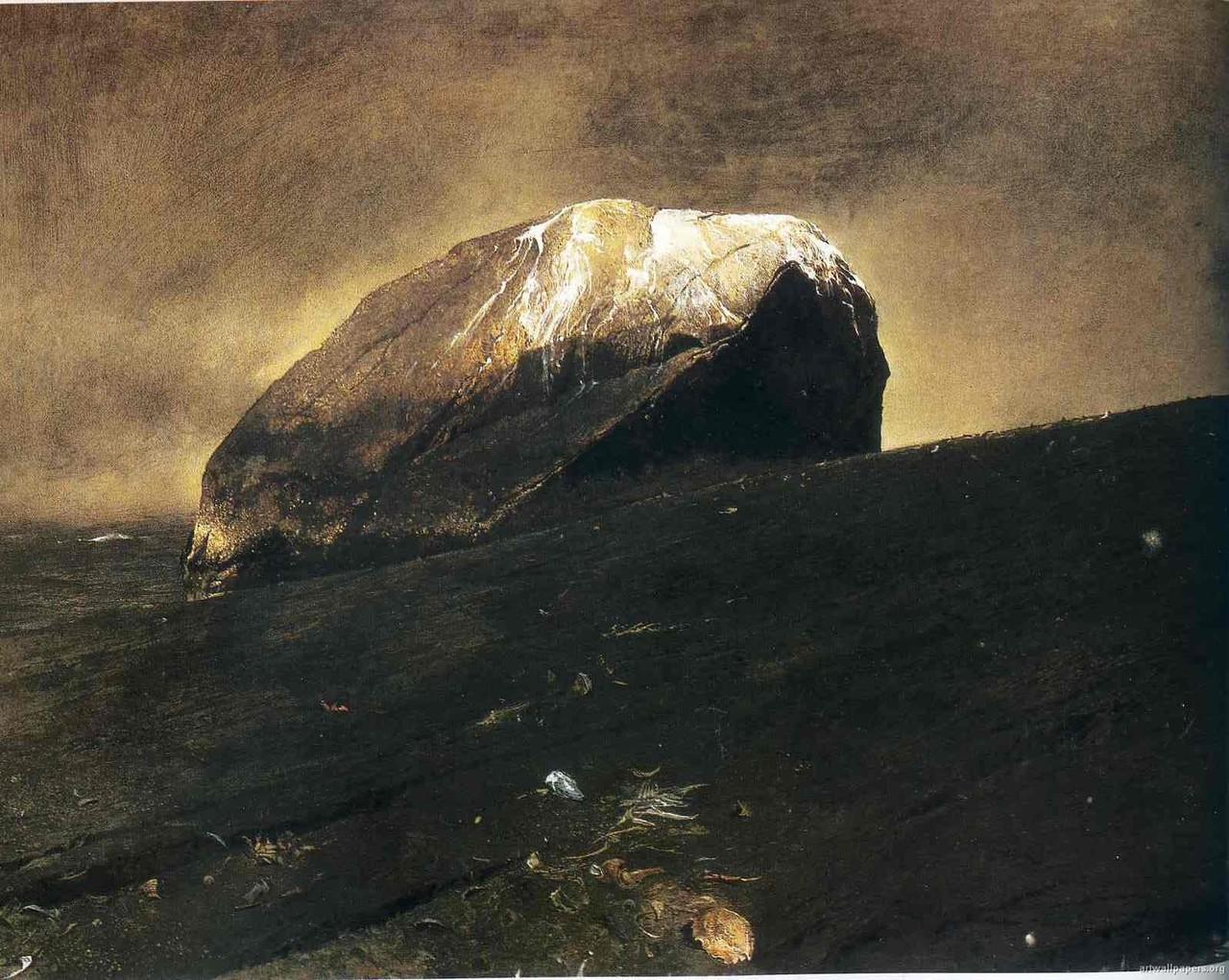 'Flint' - Andrew Wyeth
