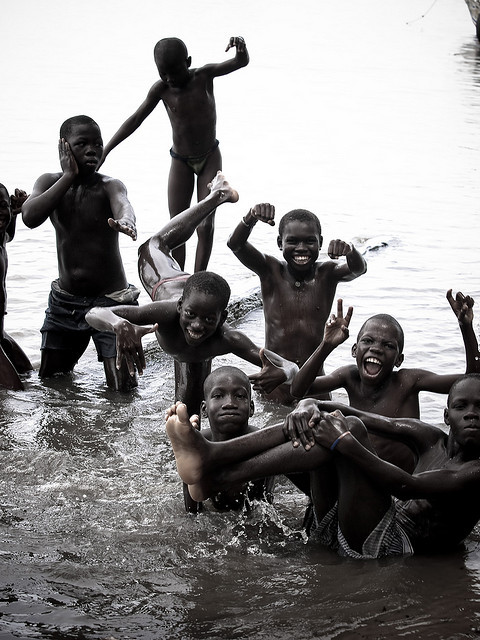 weareallafricans:  Senegal 2009 kids! by Fandi.es on Flickr.