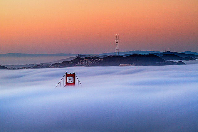 Golden Gate Peaking Through on Flickr.Via Flickr: Someone messaged me about purchasing this photo from me, through Flickr today. I knew I needed to touch it up a bit better, then I previously had back in May. So I went back to it until I felt it was print ready and added it to my portfolio & online store. Use FRIENDS to get 20% !!  Marin Headlands Sausalito, CA May 8, 2012 Canon 7D Canon 70-200mm f/4L  Lee Soft Grad Filters. .9 + .6 You can buy this here: tobyharriman.smugmug.com/Photography/Golden-Gate-Bridge/2… [www.tobyharriman.com] [facebook] [Google+] [Tumblr] [Twitter] [redbubble]View on Black © Toby Harriman all images Creative Commons Noncommercial. Please contact me before use in any publication.