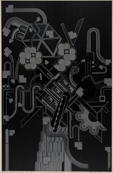 cavetocanvas:  Eduardo Paolozzi, Central Park in the Dark Some Forty Years Ago, 1974-76