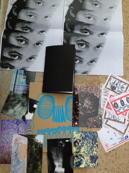"jamieflorance:  Package from Loose Bones. Got the second print of his zine ""Bedroom Sickness."" Lots of trippy and some really cool design/patterns/I don't really know what to call them. Check him out here."
