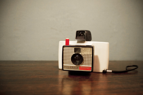 badsloth:  The Polaroid Swinger Model 20 Land Camera. Just added to my shop!