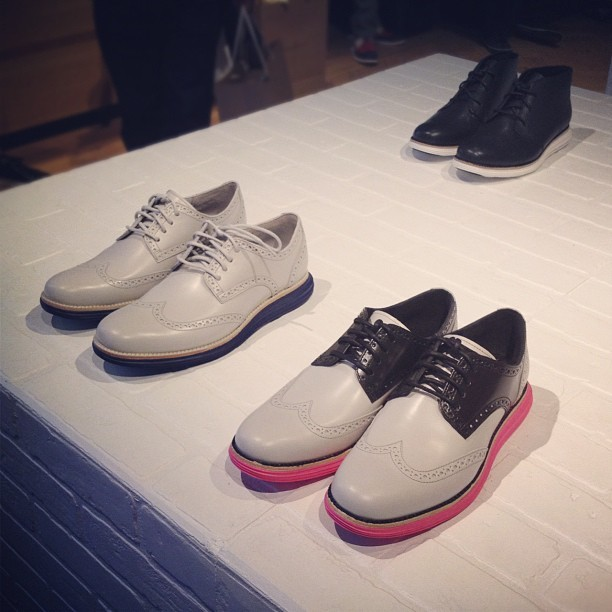 Guess which pair I bought???👟 Fragment design X Cole Haan @colehaan #colehaan #menswear #shoes #lunargrand #fashion #style #nyc #newyork  (Taken with Instagram at Cole Haan)