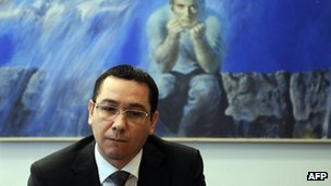 "EU warns Romania PM Victor Ponta over political crisis A top EU official has urged Romania's prime minister to safeguard judicial independence and the rule of law, amid a paralysing political crisis. The message came from European Council President Herman Van Rompuy, who met PM Victor Ponta in Brussels on Thursday. Mr Ponta, a leftist, has moved to oust Romania's President Traian Basescu. The president has been suspended by the largely pro-Ponta parliament and a referendum on 29 July will decide whether he can be impeached. Mr Van Rompuy, who chairs EU summits, voiced ""deep concerns"" about Romania's crisis, ""with regard to the rule of law and the independence of the judiciary"", a statement from his office said. He asked Mr Ponta to ""address the issues identified by the [European] Commission as problematic"". Critics say the moves by Mr Ponta and his Social Liberal Union (USL) supporters, who came to power in May, are aimed at weakening the influence of Mr Basescu and undermining the judiciary. Mr Ponta says he will address any issues raised by Romania's EU partners. But he also accused the centre-right president of blocking government policies. Romania and its neighbour Bulgaria joined the EU in 2007, but Brussels has put both countries under special monitoring because of concerns about judicial independence, corruption and political influence in state institutions. Pictured: Victor Ponta's power struggle has caused ""deep concern"" in the EU"