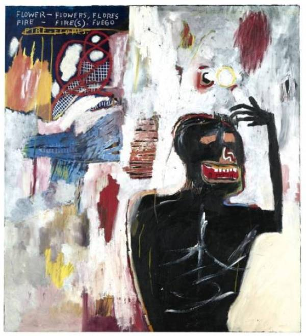 Jean-Michel Basquiat. The Fire Flowers. 1983