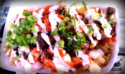 KojaKitchen Kamikaze Fries is a score for me! Off the Grid; San Francisco, Ca