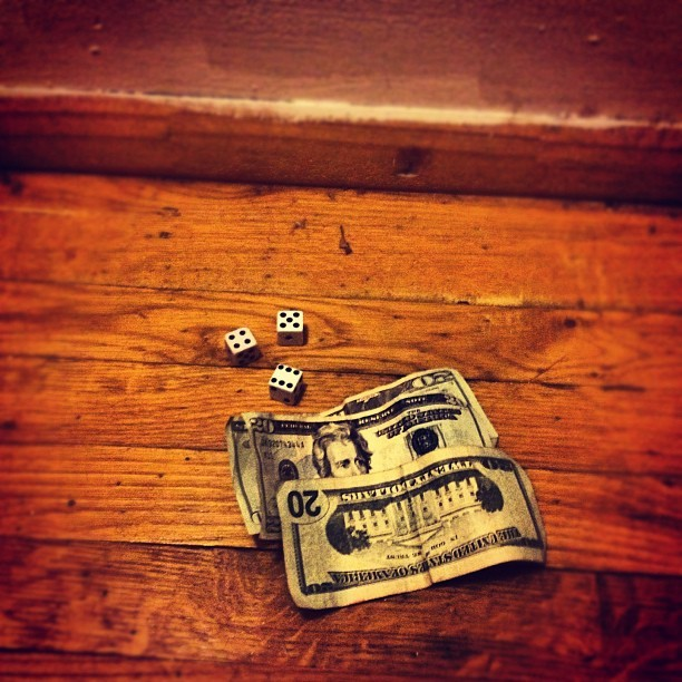 Playin' #ceelo #dice #game #gambling #money #odds #456 #bestpic #instagood #instagram #instafamous #instamoney #picoftheday #bet #deadpresidents (Taken with Instagram at Nyc)