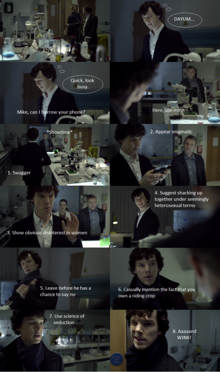 How to Get the Attention of a Hot Army Doctor               By Sherlock Holmes