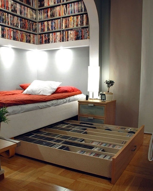 Book Shelf Bed.
