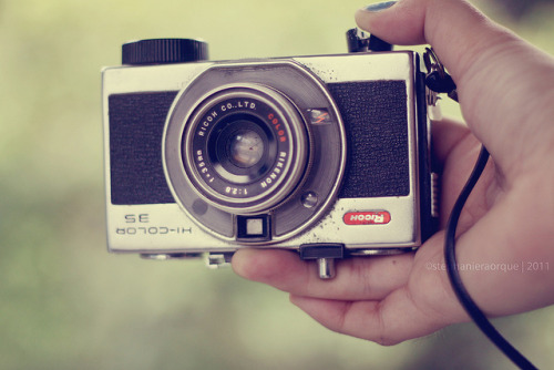 as-the-light-came-through:  Uncle's old camera by stephraroque on Flickr.
