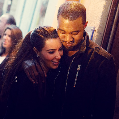 kanyedaily:  How can anyone disapprove of Kimye when you see pictures of them together? They look sosososo happy together MY HEART IS EXPLODING FROM HAPPINESS❤❤❤