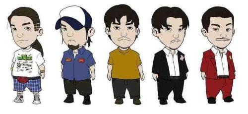 halfdogjury:  Mike Patton Evolution. Ha!