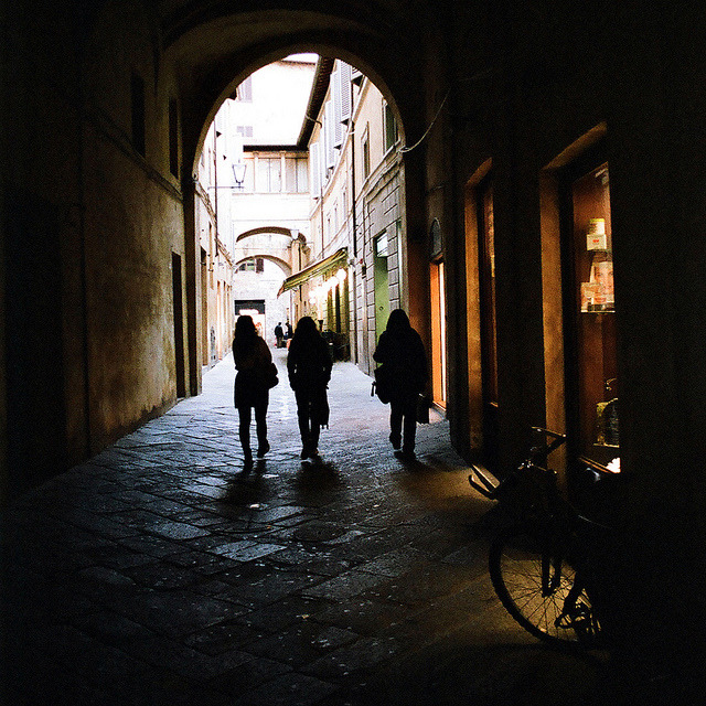 | ♕ |  Ancient passage - Siena  | by © Peter Gutierrez