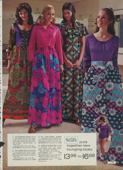 ~ Sears catalog, 1972via Retrospace(click to enlarge)