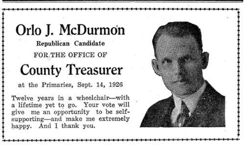 ~ Cass City Chronicle (Michigan), September 10, 1926via Vintage Ads LiveJournal