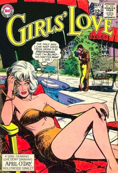 romancecomics:   Girls' Love Stories  #111
