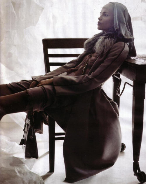 "thefashiondontlivewithoutvogue:  ""Révélation"": Natasha Poly by Craig McDean for Vogue Paris October 2005"