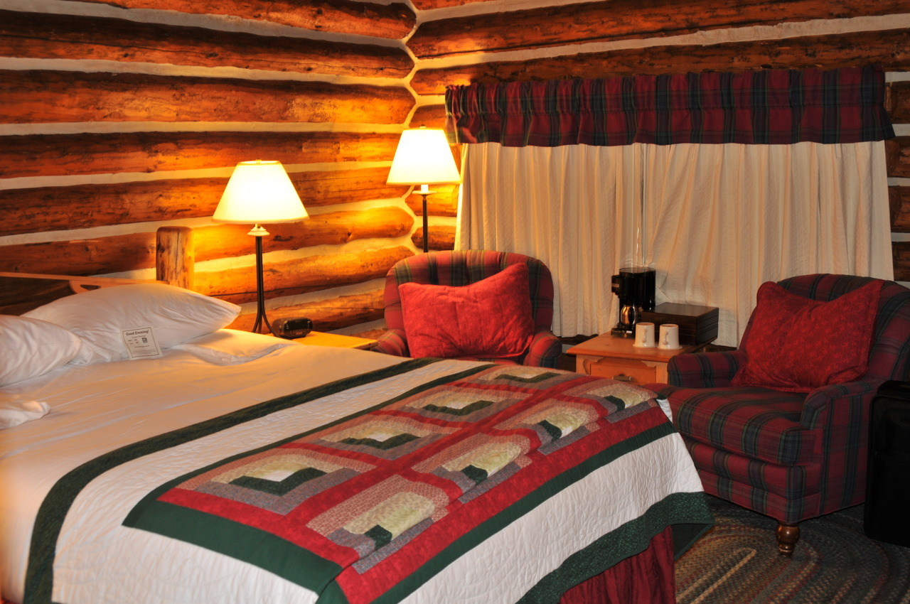 Jenny Lake Lodge - Grant Teton National Park For those who have stayed at a NPS lodge, you know you're sort of roughing it a bit. At the Jenny Lake Lodge, that couldn't be further from the truth. The lodge consists of private and semi-private cabins, with rustic timber walls, cushy chairs, down covered beds and recently renovated bathrooms (a huge upgrade over every other NPS bathroom I've had). Of course, you pay for the privilege, but it's a lovely and restful setting amidst one of the most popular sites in the park. You can't beat having such prime trails within walking distance of your cabin. Also, breakfast and a five course prix-fix meal are included, along with the excellent services at the lodge such as bikes and horseback riding. The waiters and lodge staff are excellent. You should experience it at least once, if only for a special occasion. Enjoy a glass of wine by the fire in the main cabin. You know you want to…