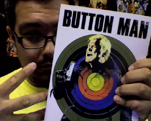 christhemadtitan:  If you have not read Button Man. Do yourself a favor… PICK THIS UP!!!! HOLY FUCK IT'S GOOD!!! There is not a single book in the US Market today that has excited me a bit (Maybe Batman: Earth One) this year. Even tho Button Man is an old 2000ad book, it is fantastic! Thank you, Mr.Wanger & Mr.Ranson!  It really is that good. As the film is in development now seems the best time to catch-up on the four Button Man graphic novels.