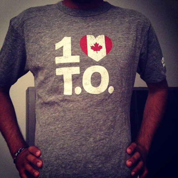 I love my friends #1loveTO @1loveto #canada #canadaday (Taken with Instagram)