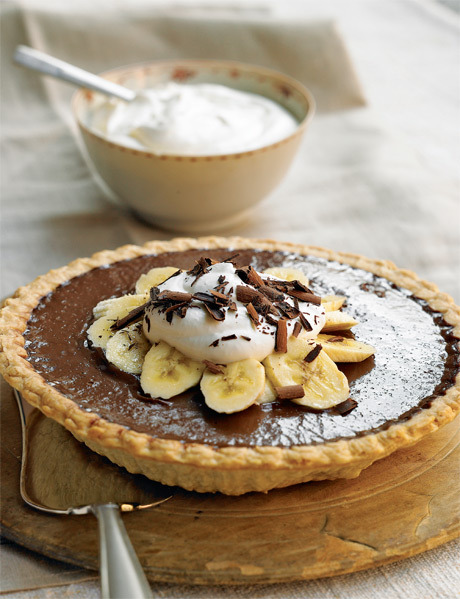 e-levated:  Chocolate Banana Cream Pie