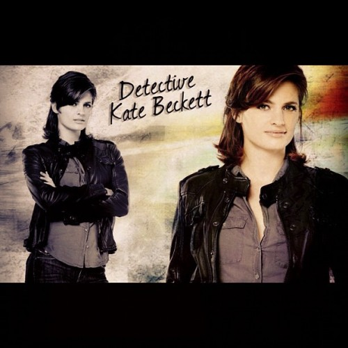 Kate Beckett, Stana Katic #castle (Taken with Instagram)