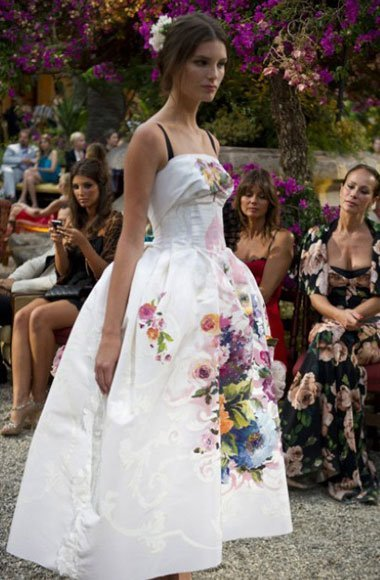 A sneak peek of Dolce & Gabbana's first couture collection Alta Moda [Image: Jason Lloyd Evans and Greg Kessler courtesy of Dolce & Gabbana]
