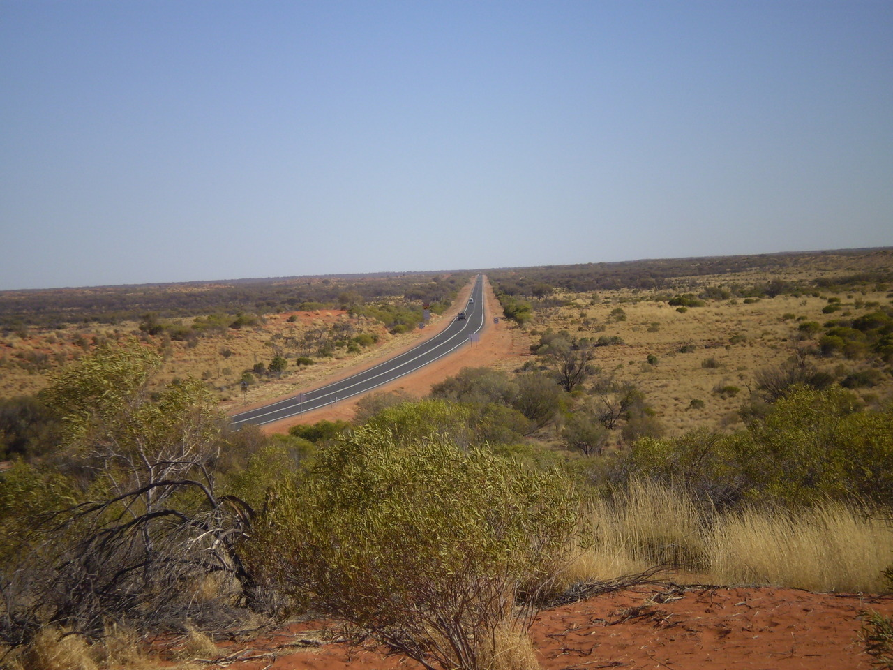 The road to Uluru